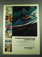 1972 Evinrude Outboard Motors and Boats Ad - Fun