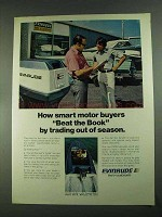 1972 Evinrude Outboard Motors Ad - Beat The Book