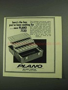 1972 Plano 7530 Tackle Box Ad - You've Been Waiting For