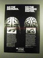 1987 IRC RS-310 and VS-17 Tires Ad - Go the Distance