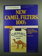 1987 Camel Filters 100's Cigarettes Ad