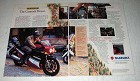 1987 Suzuki GSX-R750 and GSX-R1100 Motorcycles Ad