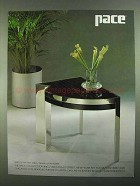 1981 Pace 3250 Plaza End Table Ad - Leon Rosen