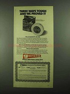 1981 Garcia Gladiator Fishing Line Ad - Tough