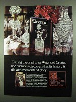 1981 Waterford Crystal Ad - Tracing the Origins
