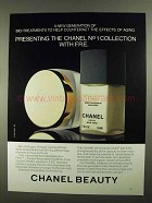 1981 Chanel No 1 Collection with F.R.E. Ad