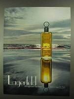 1981 Lagerfeld Cologne Ad - A Fragrance for Men