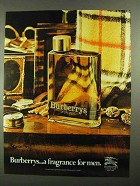 1981 Burberrys Cologne Ad - A Fragrance for Men
