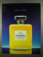 1981 Chanel No 5 Perfume Ad - Share the Fantasy
