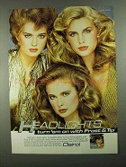 1981 Clairol Frost & Tip Frosting Kit Ad - Headlights