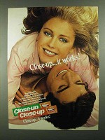 1981 Close-Up Toothpaste Ad - It Works!