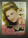 1981 Cover Girl BlushMates Ad - Christie Brinkley