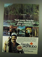 1981 Manitoba Canada Ad - Get Your Hooks Into