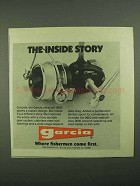 1981 Garcia 9800 Fishing Reel Ad - The Inside Story