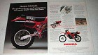 1981 Honda XR500R Motorcycle Ad - Rocks, Whoops