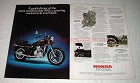 1981 Honda GL500 Silver Wing Motorycle Ad - A Tour