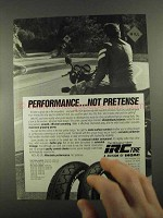 1988 IRC RS-310 Tires Ad - Performance Not Pretense