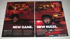 1988 Chevy Sportside Pickup Truck Ad - New Game