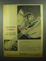 1943 McDonnell Aircraft Ad - Diagnosticians of Design
