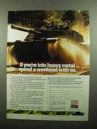 1990 U.S. Army National Guard Ad - Into Heavy Metal