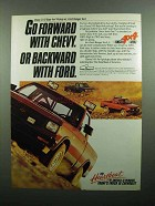1990 Chevy S-10 Baja 4x4 Pickup Ad - Go Forward