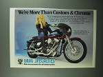 1989 Drag Specialties Accessories Ad - We're More Than