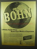 1942 Bohn Aluminum and Brass Ad - World of Experience