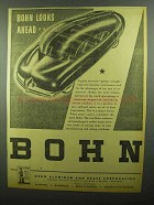 1942 Bohn Aluminum and Brass Ad - Looks Ahead