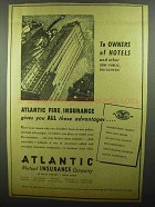 1942 Atlantic Mutual Insurance Company Ad - Advantages