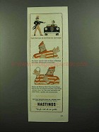 1942 Hastings Steel-Vent Piston Rings Ad - Uncle Sam