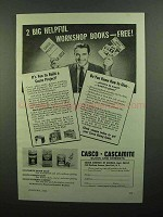 1942 Casco Cascamite Glues and Cements Ad - Helpful