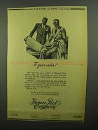 1942 Rogers Peet Company Ad - To Your Order