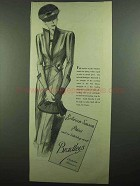 1939 Bradleys Redingote Suit Ad - Between Season Prices