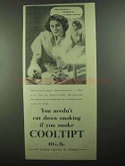 1939 Cooltipt Cigarettes Ad - Miss Conscience