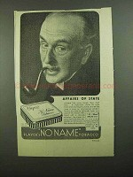 1939 Players No Name Tobacco Ad - Affairs of State
