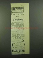 1939 Blue Star Line Andora Star Cruise Ad - Exclusively