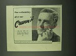 1939 Craven A Cigarettes Ad - For Reliability Give