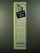 1950 Oakite Compound No.32 Scale-Dissolving Agent Ad
