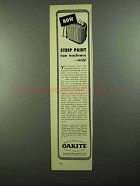 1950 Oakite Paint Stripping Materials Ad - From Transformers