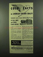 1950 American Pulverizer Company Ad - Cold Facts On