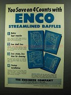 1950 The Engineer Company Ad - Save with ENCO