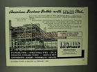1950 Ingalls Steel Ad - American Business Builds With