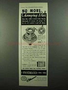 1937 Ridgid No. 65R Die Stock Ad - No More Changing