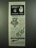 1937 Ridgid No. 65R Die Stock Ad - Only 4 Chaser Dies