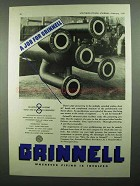 1937 Grinnell Piping Ad - A Job for Grinnell