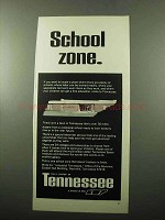 1969 Tennessee Industrial Development Ad - School zone