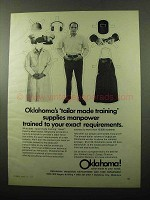 1969 Oklahoma Industrial and Park Department Ad