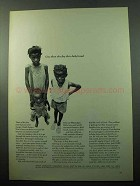 1969 NAACP Mississippi Emergency Relief Fund Ad