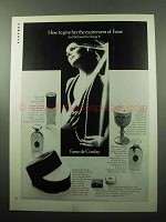 1969 Corday Perfume Ad - Give Her Excitement of Fame