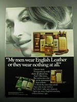 1969 English Leather After Shave Ad - My Men Wear